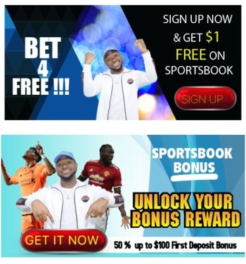 AfricaBet Sportsbook Welcome Offer