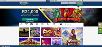 Europa Casino Review Africa