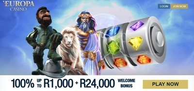 Europa Casino Africa Welcome Bonus