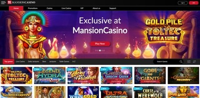 MansionCasino Review
